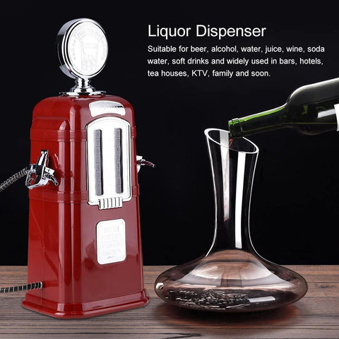 Double Guns Liquor Pump Gas Station Beer Dispenser