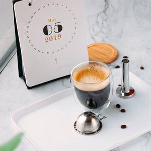 Reusable Coffee Capsule for Nespresso Vertuo® | Happy Capsules™