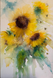 Instant Sunshine: Sunflower Tutorial