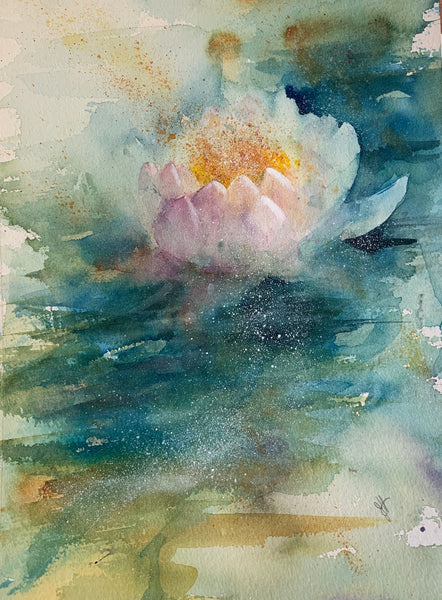 **New** Waterlily In Watercolour: Available