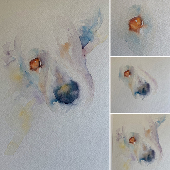 Dogs in Watercolour