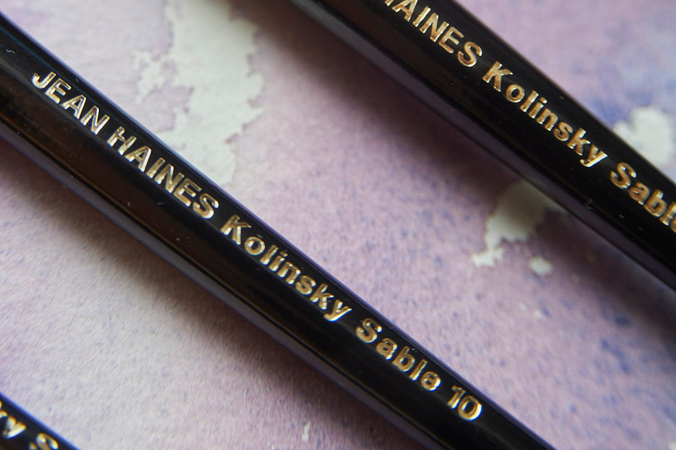 Jean Haines Kolinsky Sable Watercolour Brushes