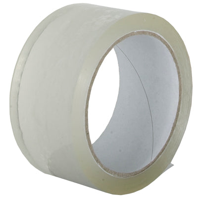 CARTON SEALING TAPE CLEAR 48mm x 66m x 25micron