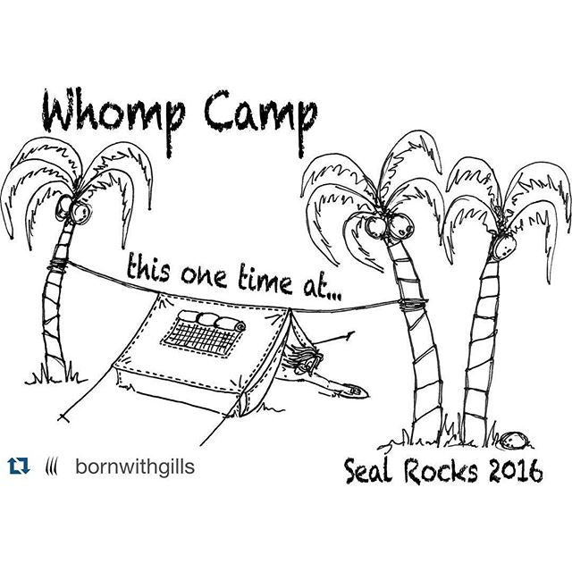 Whomp Camp 18th and 19th June 2016