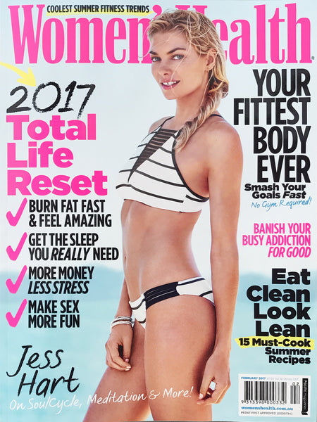 Australian Womens Health Magazine February 2017