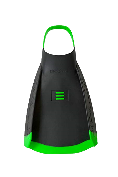 DMC Repellor Fins Black/Green