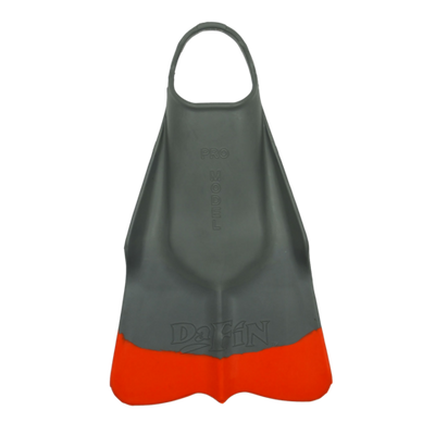 DaFiN Swim Fins :: Grey / Orange