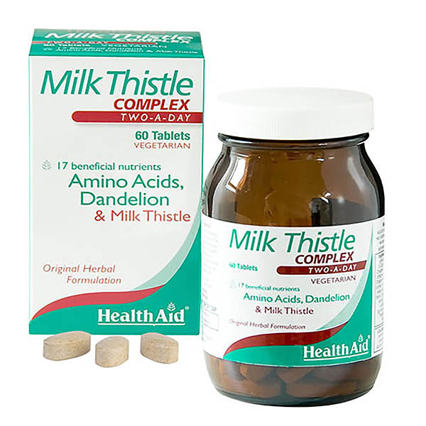 Health Aid Milkthistle Complex (Livercare) - 60 Tablets