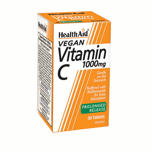 Health Aid Vitamin C 1000mg - Prolonged Release - 30 Tablets