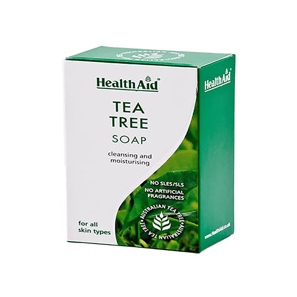 HEALTH AID TEA TREE OIL SOAP 100G