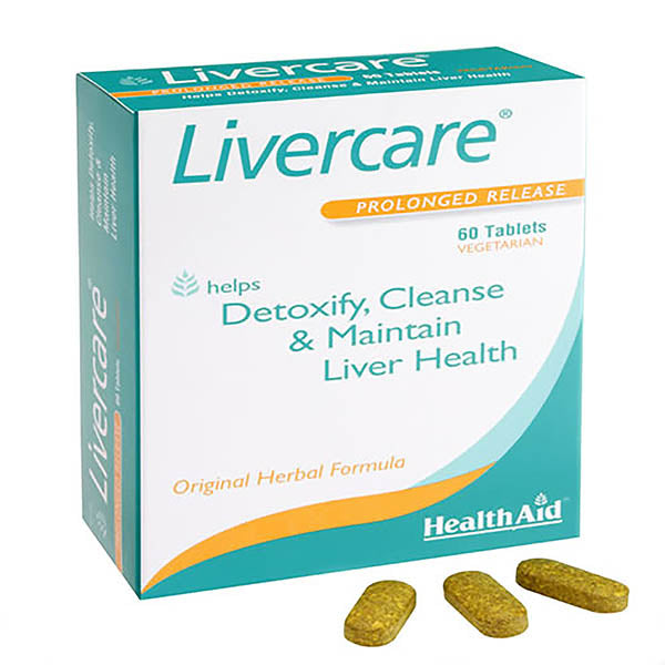 Health Aid Livercare - 60 Tablets