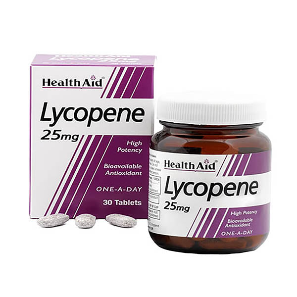 Health Aid Lycopene 25mg - 30 Tablets