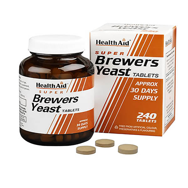 Health Aid Brewers Yeast Tablets 240 Tablets