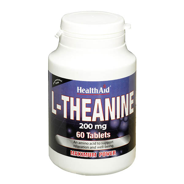 Health Aid L-Theanine 200mg Tablets 60s