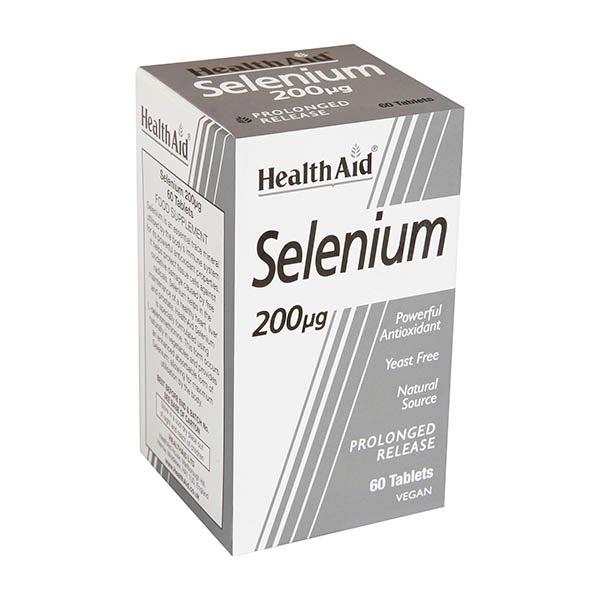 Health Aid Selenium 200mg Tablets 60s
