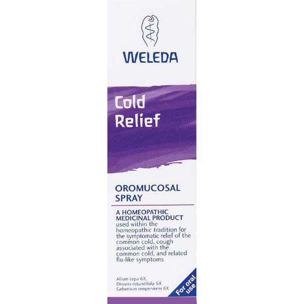 WELEDA COLD RELIEF ORAL SPRAY 20ML