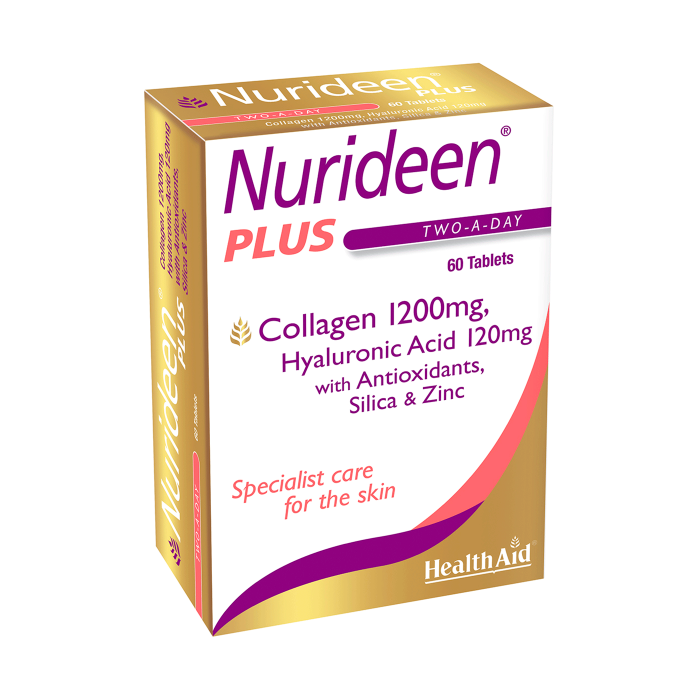 Health Aid Nurideen Plus (For Skin) - 60 Tablets