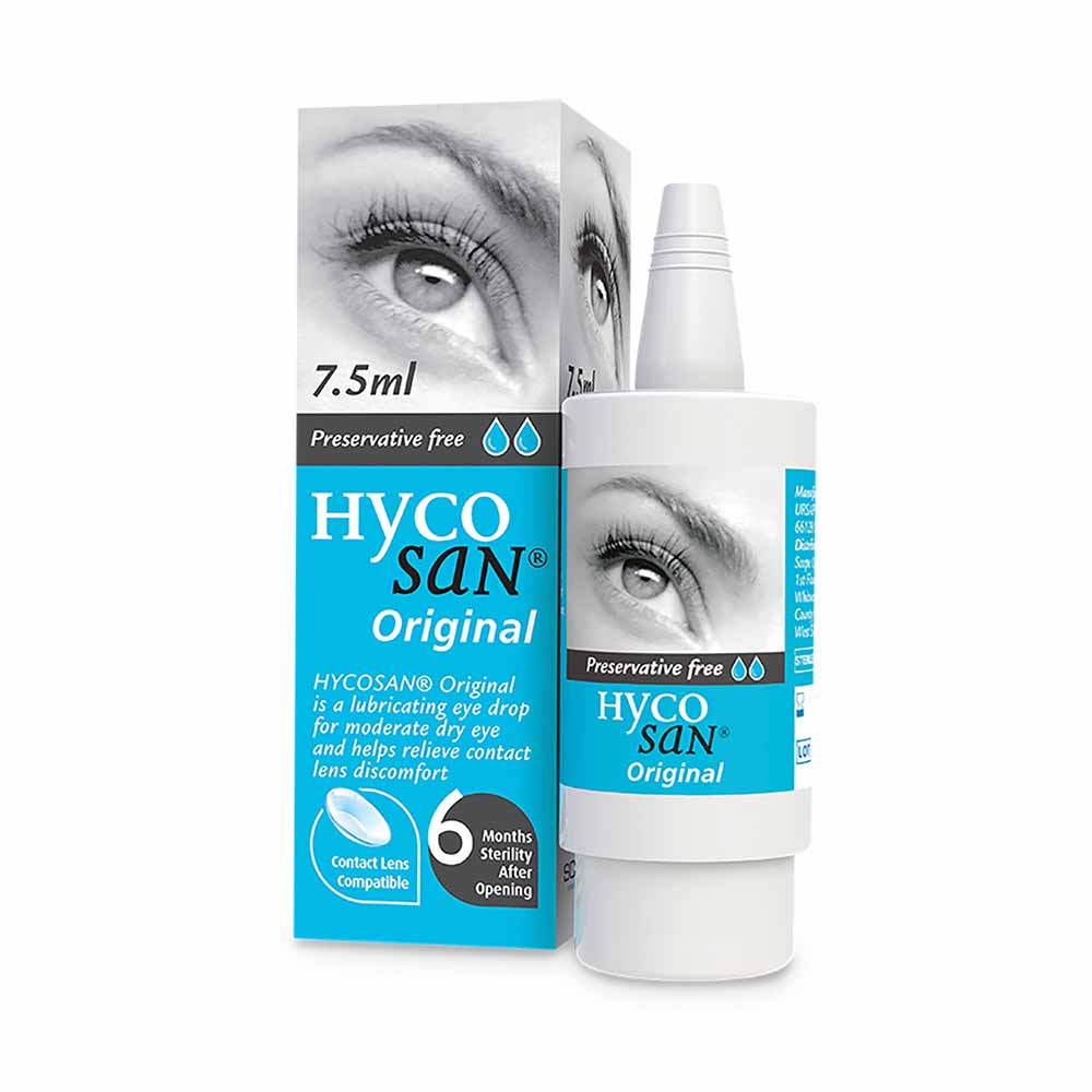 HYCOSAN EYE DROPS 7.5ML