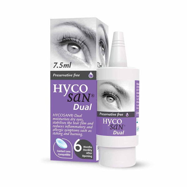 HYCOSAN DUAL EYE DROPS 7.5ML