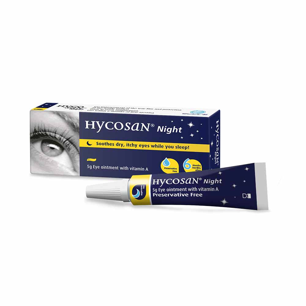 HYCOSAN NIGHT EYE OINTMENT 5G