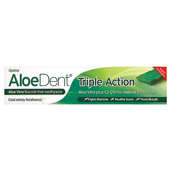 Aloe Dent Aloe Toothpaste Originaltriple Action 100ml