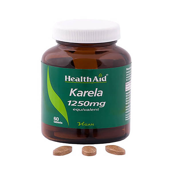 Health Aid Karela 1250mg - 60 Tablets