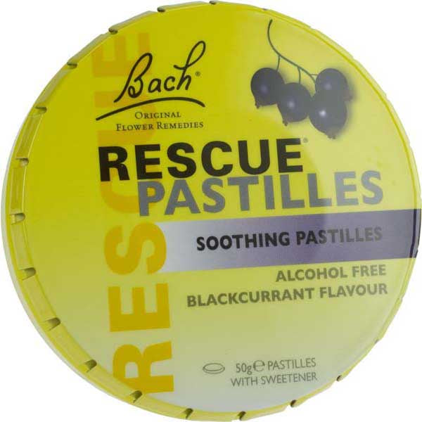 BACH PASTILLES 50GM BLACKCURRANT