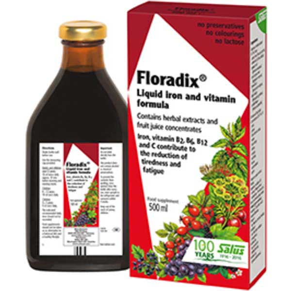 FLORADIX IRON FORMULA 500ML