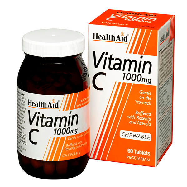 Health Aid Vitamin C 1000mg - 60 Chews