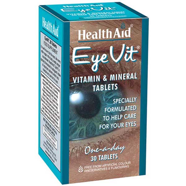 Health Aid EyeVit® - Prolonged Release - 30 Tablets