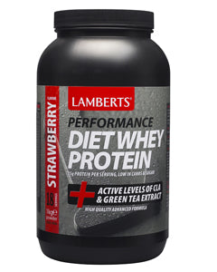 LAMBERTS STRAWBERRY DIET WHEY PROTEIN SHAKE 1000g