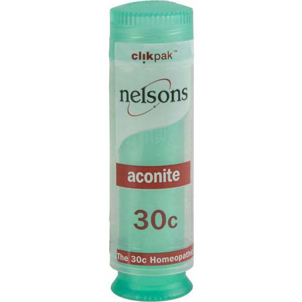 Nelsons Aconite 30C  - 84 Tablets
