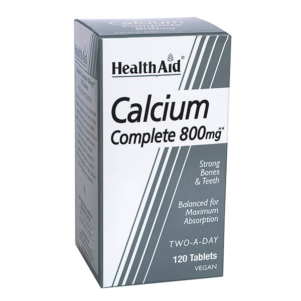 Health Aid Calcium Complete 800mg Tablets 120s