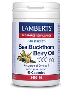 LAMBERTS Sea Buckthorn Berry Oil 1000mg 60 Capsules