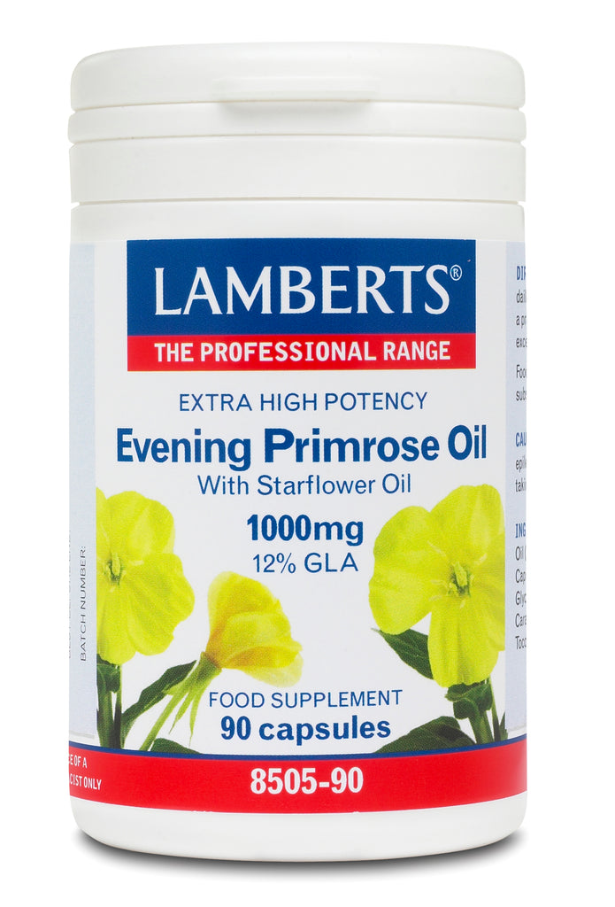 LAMBERTS EXTRA HIGH POTENCY EVENING PRIMROSE OIL 90 Capsules