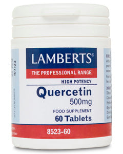 LAMBERTS QUERCETIN 500mg 60 Tablets