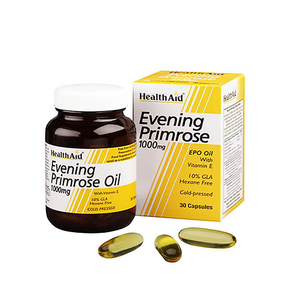 Health Aid Evening Primrose Oil 1000mg 30 Capsules