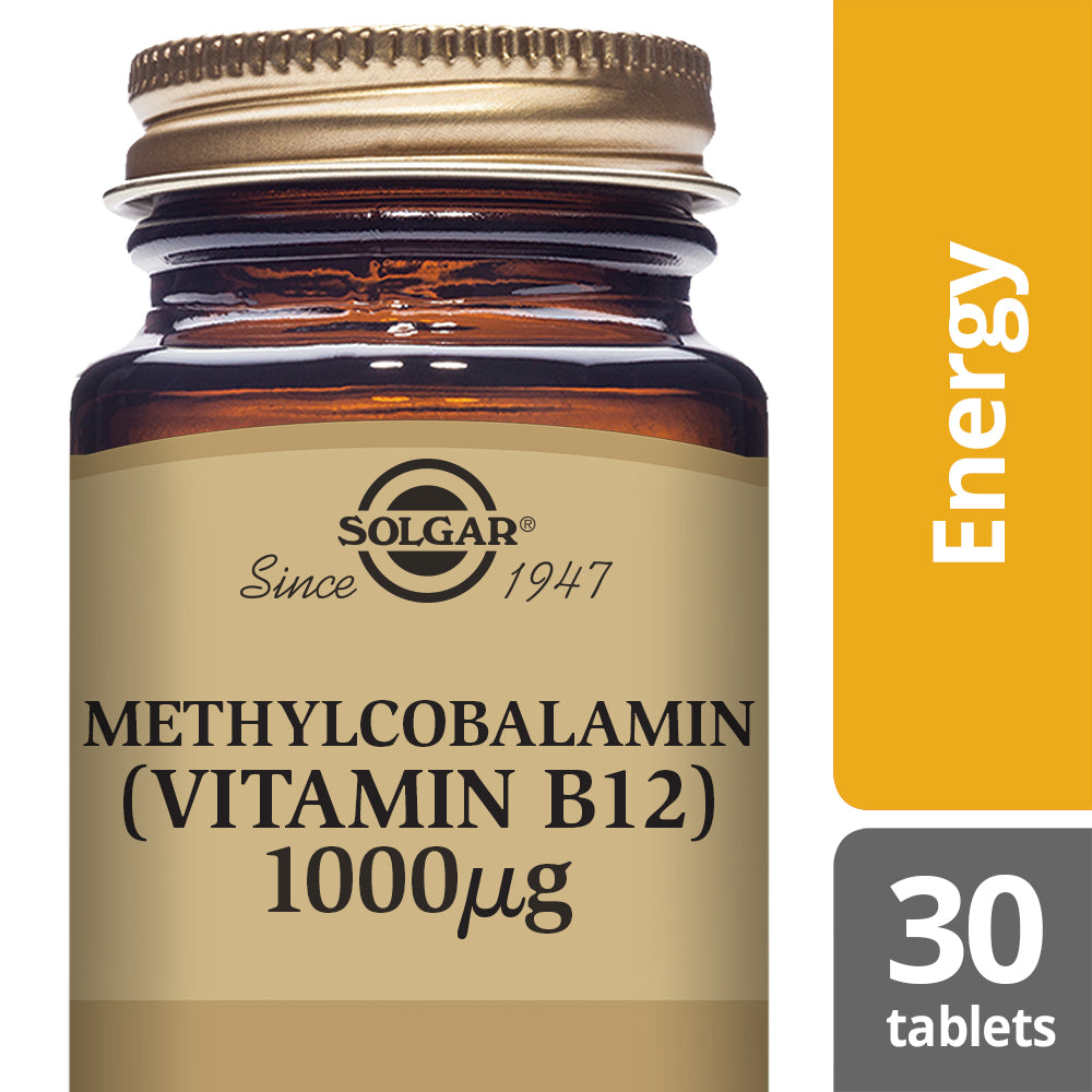 SOLGAR Methylcobalamin (Vitamin B12) 1000 µg Nuggets