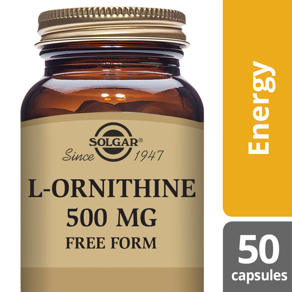 SOLGAR L-Ornithine 500 mg