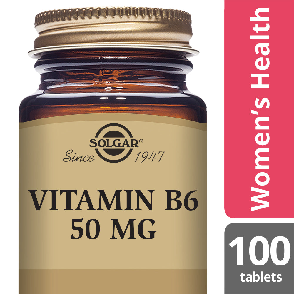 SOLGAR Vitamin B6 50 mg