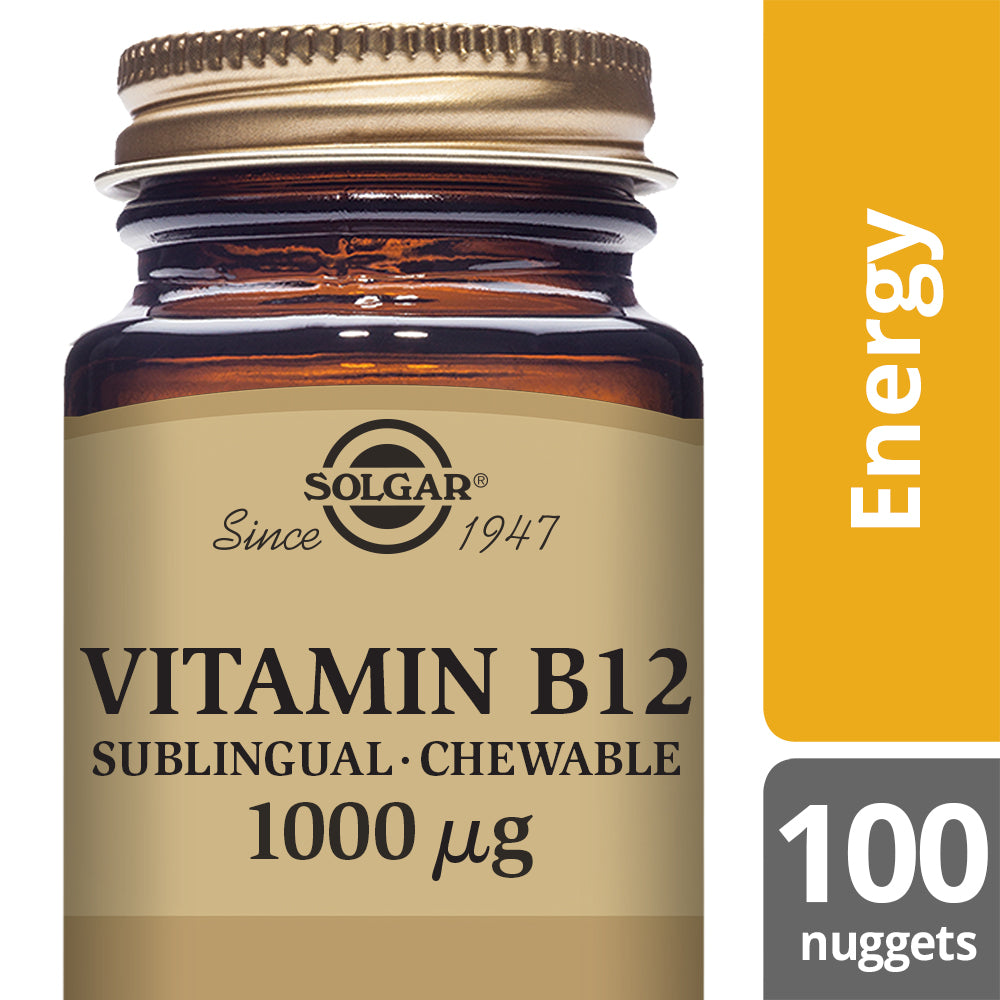 SOLGAR Vitamin B12 1000 µg Nuggets