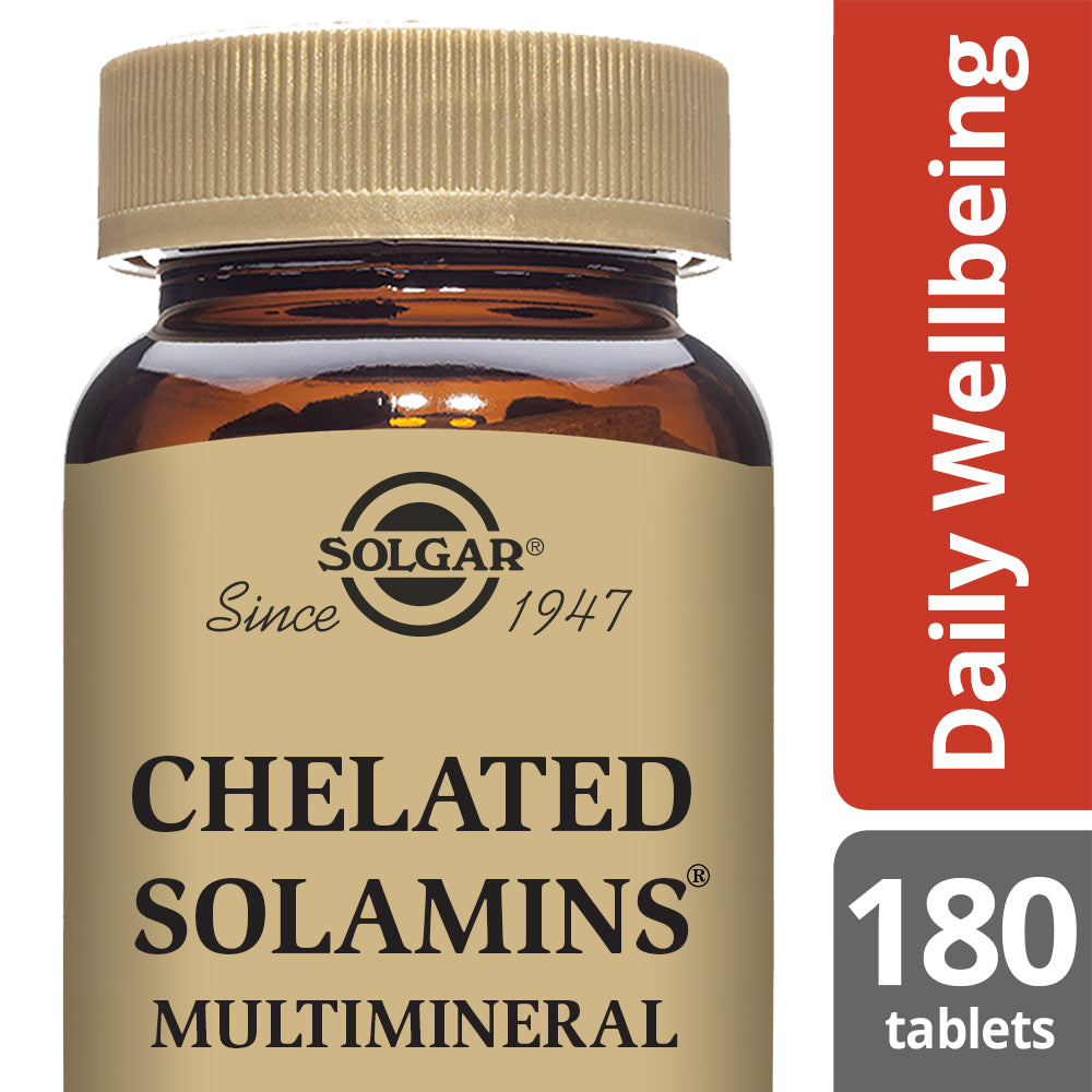 SOLGAR Chelated Solamins® Multimineral*