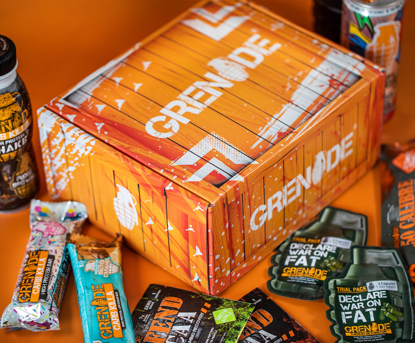 Care Package - Save 47% TODAY with this BUNDLE of Grenade Goodies