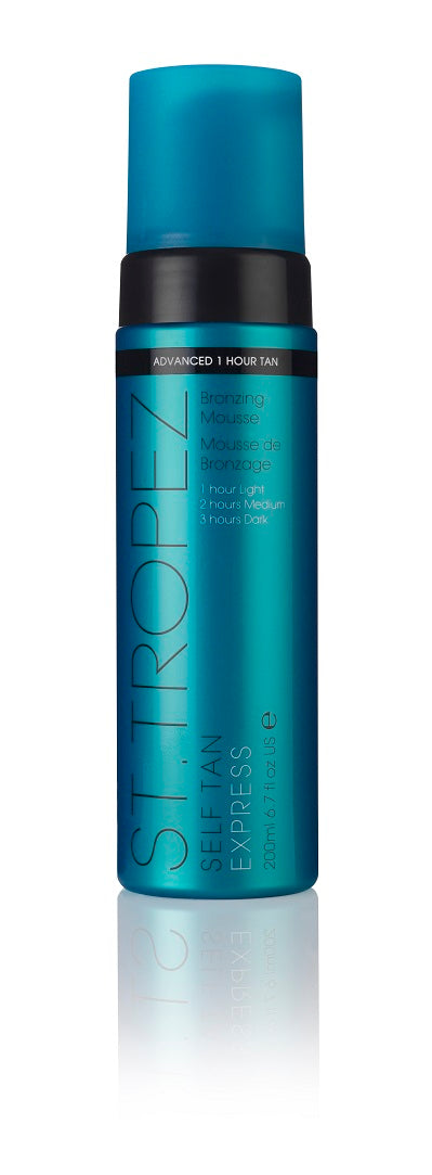 St Tropez Self Tan Express Bronzing Mousse (200ml)