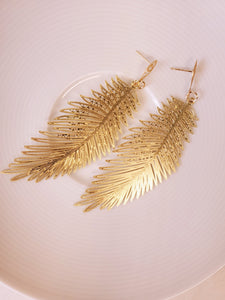 """Simply Feathered"" earrings"