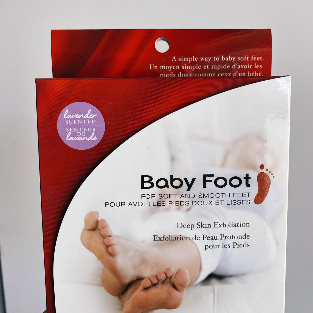 babyfoot, deep skin exfoliation, bare essentials