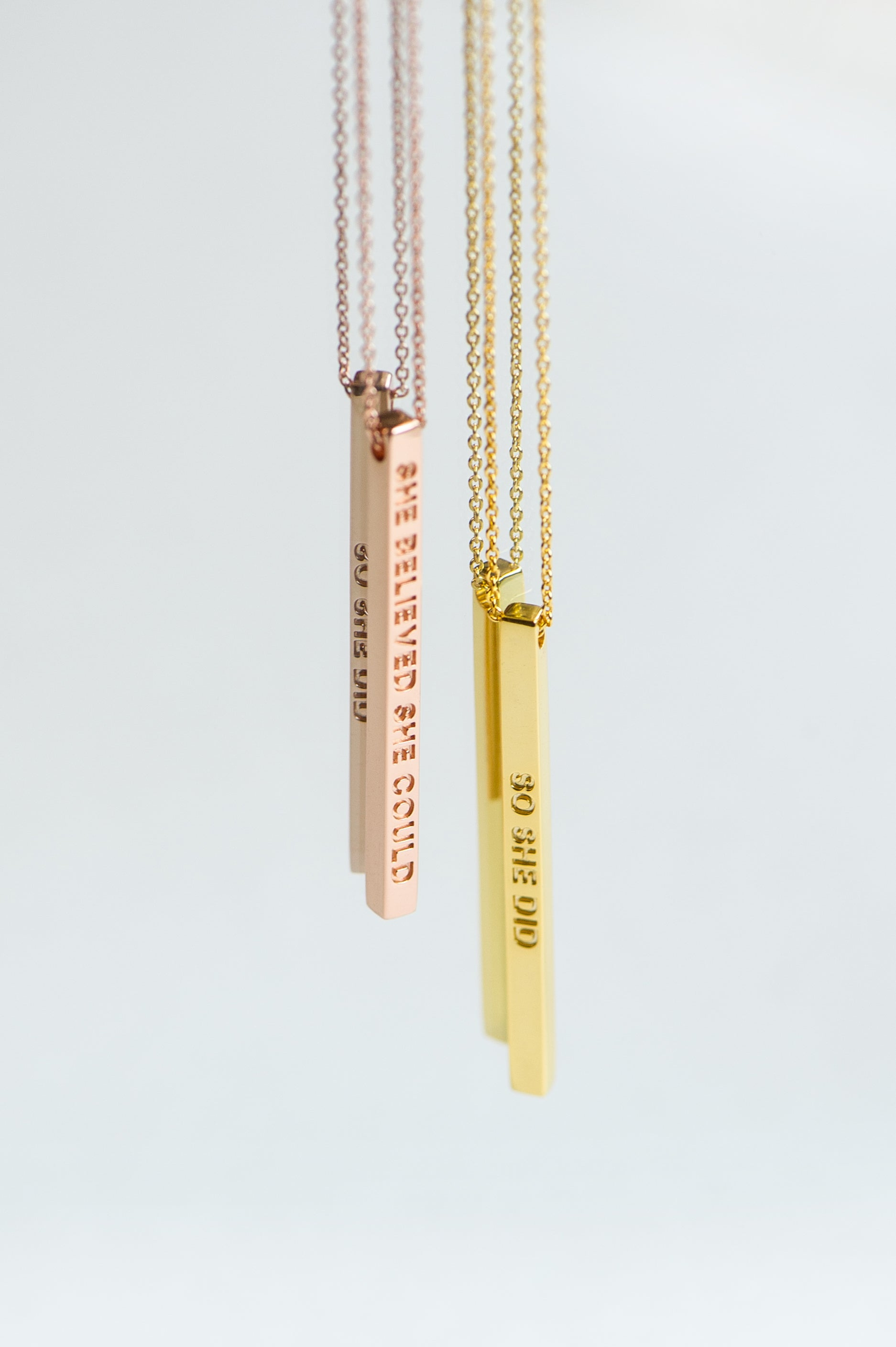Mantra Necklaces