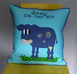 Personalised Cushion - Cow