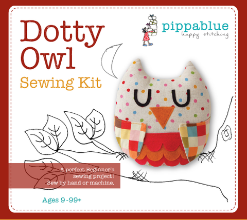 Dotty Owl - Sewing Kit