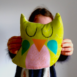 Easy Sew Sleepy Owl